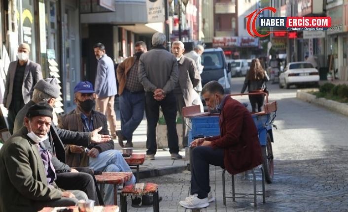 Van'da 'İşçiler Sokağı'nda iş yok