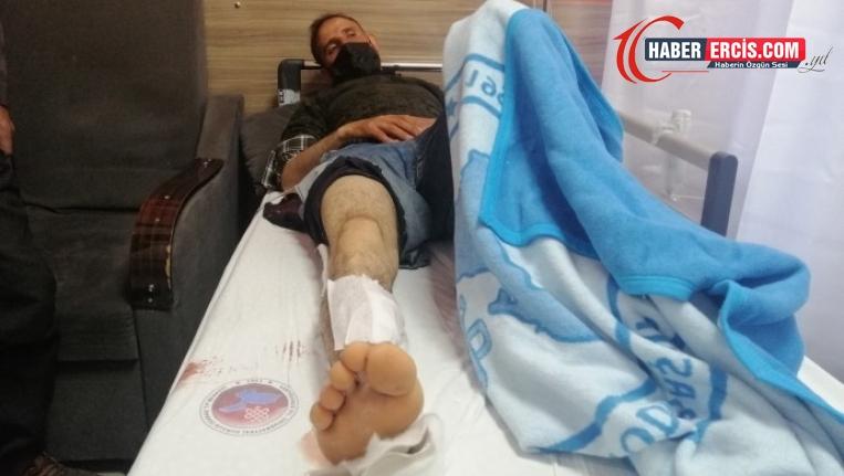 Van'da askerler bir köylüyü silahla vurdu, yaralı halde tekmeledi