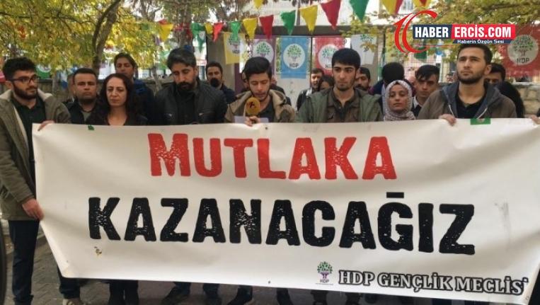 Van'da HDP Gençlik meclis üyesi 7 kişi tahliye edildi