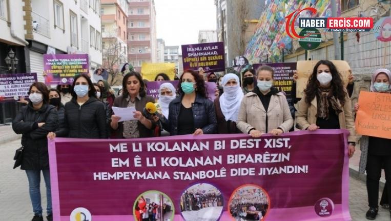 Van'da kadınlar engel tanımadı: Eril sisteme izin vermeyeceğiz