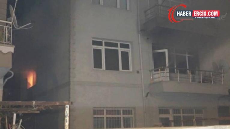 Yanan evde bir kadının katledildiği ortaya çıktı