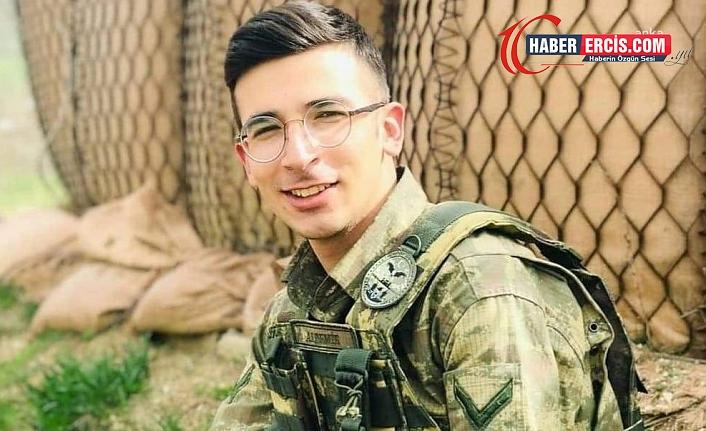 Yüksekova'da şüpheli asker ölümü