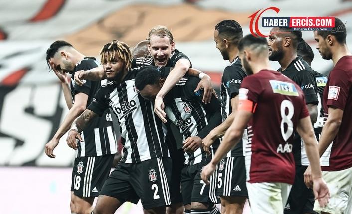 Beşiktaş Şampiyonluk yolunda HataySpor'u 7-0 mağlup etti