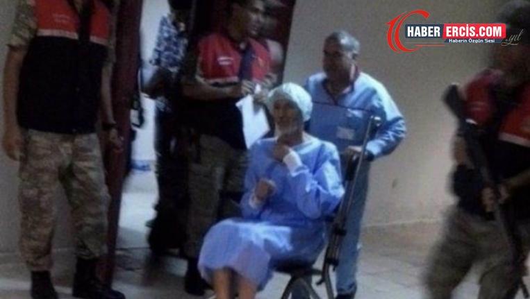 Kelepçeli hastaneye getirilen Özkan geri cezaevine götürülecek