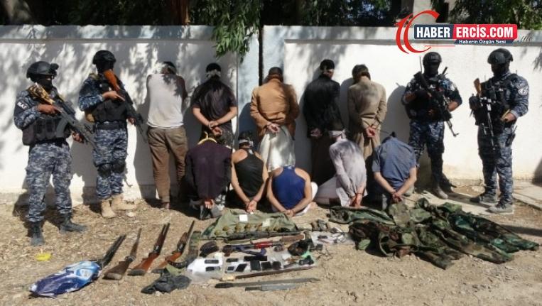 QSD'den Dêrazor'da operasyon: 24 DAİŞ'li yakalandı