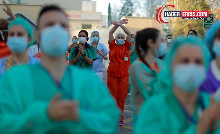 DSÖ: Salgında 115 bin sağlık çalışanı hayatını kaybetti