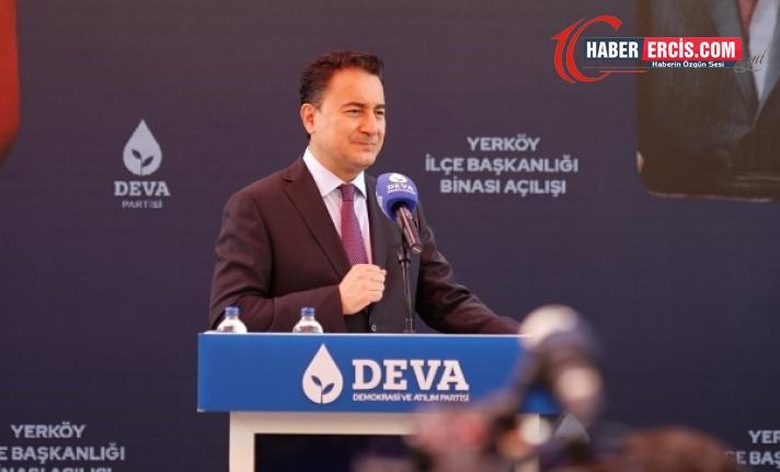 Babacan: Erdoğan için yavaş yavaş görevden ayrılma zamanı geliyor