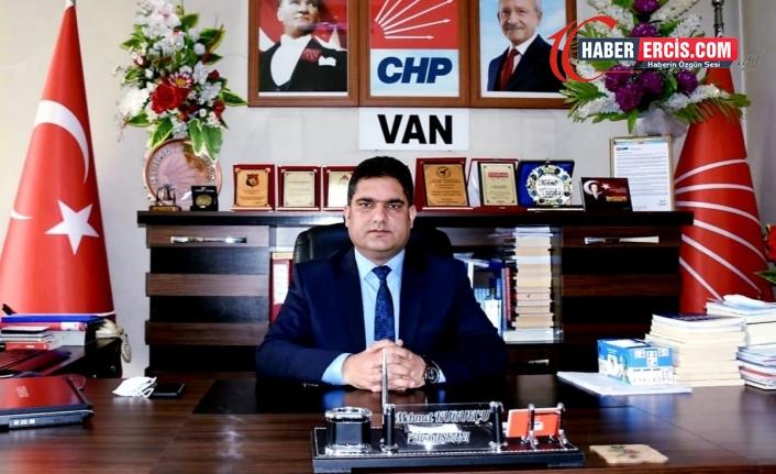 CHP Van İl Başkanı istifa etti