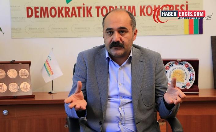 Öztürk'ten Kürtçe çağrısı: Dil yok edilirse, tarih de yok olur