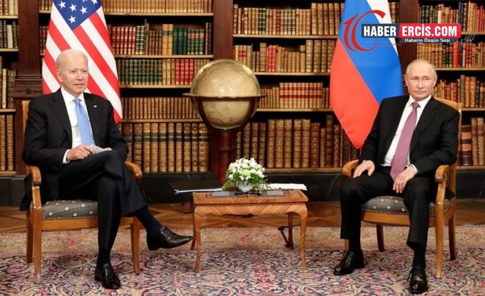 Putin ile görüşen Biden: İki ülke de soğuk savaş istemiyor