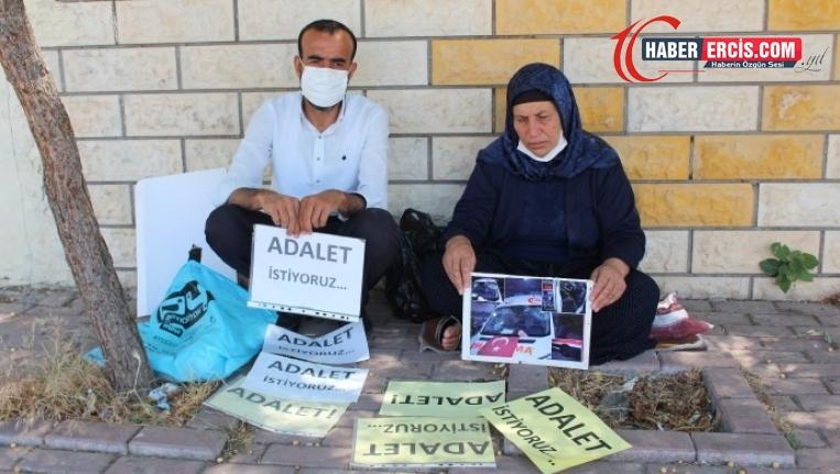 """Şenyaşar ailesinin  """"Adalet"""" nöbeti, 86'ncı gününde"""