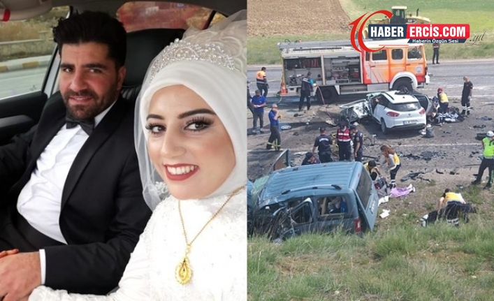 Sivas'ta trafik kazası: Van ve Ağrılı 9 yurttaş yaşamını yitirdi