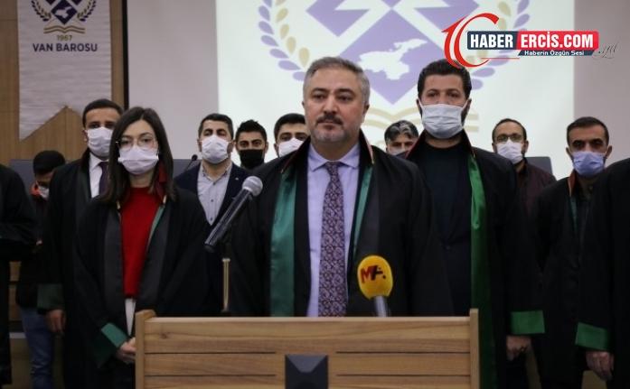 Van Barosu: Demokrasiye yapılan bu ağır saldırıyı kınıyoruz