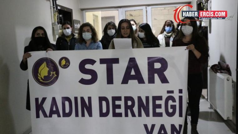 Van'da STAR Kadın Derneğinden Yaşam alanlarını savunan kadınlara destek