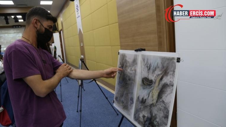 Van'da Artîn bebek anısına resim sergisi