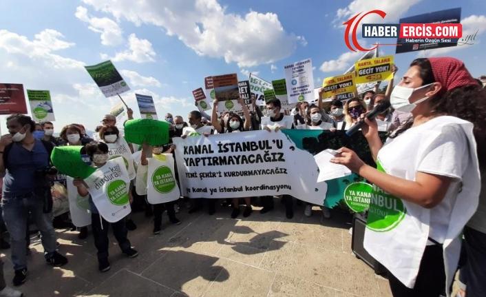 Ya Kanal Ya İstanbul Koordinasyonu: İstanbul'u seviyoruz, kanalı istemiyoruz