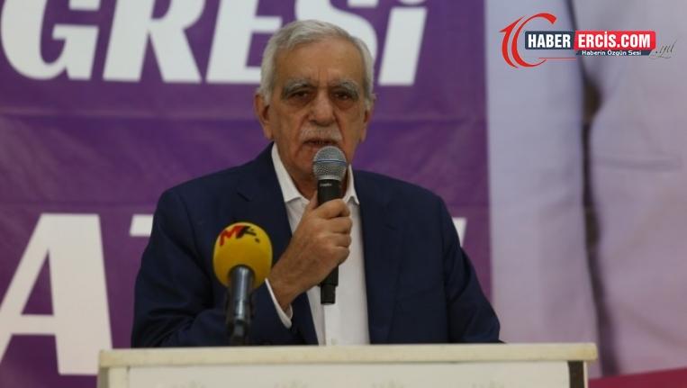 Ahmet Türk'ten AKP'ye: Bilin ki artık sona geldiniz