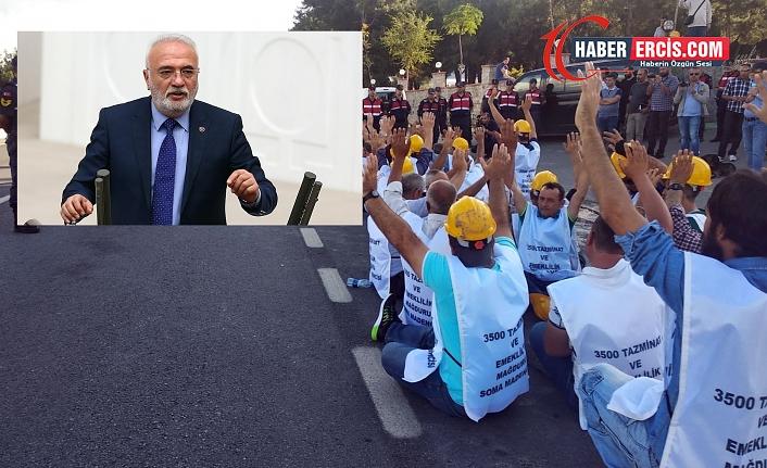 AKP'li Elitaş'tan 'Size oy verdim' diyen madenciye: Bana mı çalıştınız, vermeseydin