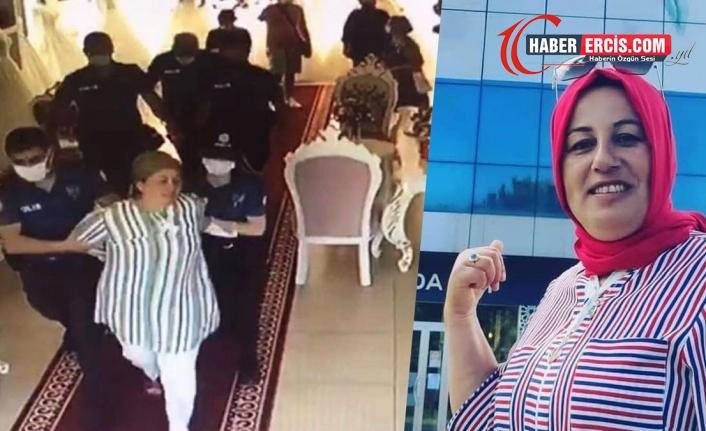 AKP'yi eleştirince karşısında polisleri buldu