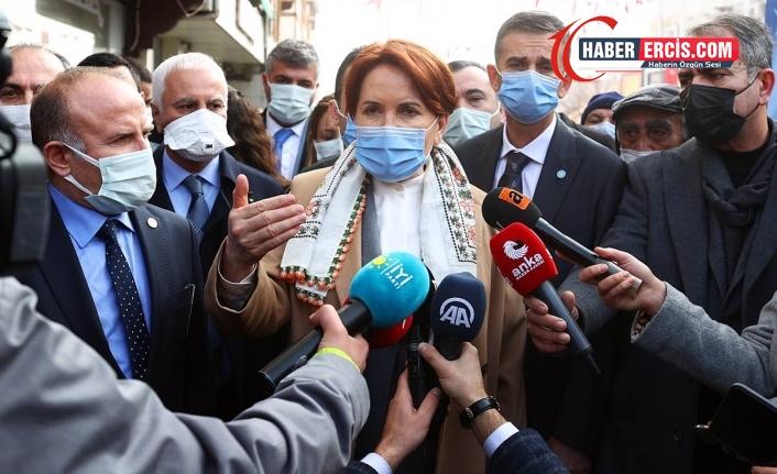 Akşener: Söylerken telef oldum ama HDP ile herhangi bir irtibatımız yok