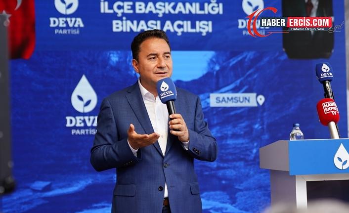 Babacan'dan Süleyman Soylu'ya: Kendisi bir güvenlik sorunu