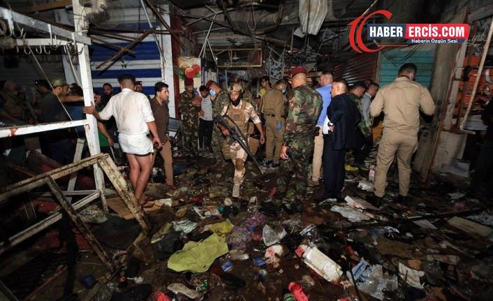 Bağdat'ta 35 kişinin öldüğü saldırıyı DAİŞ üstlendi