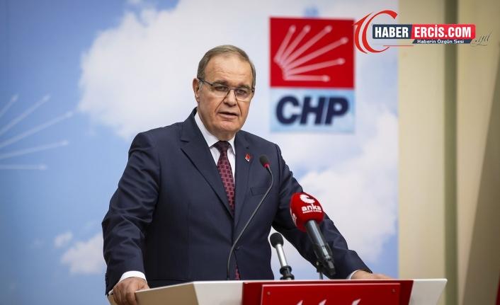CHP Sözcüsü Faik Öztrak: Devlette israfın merkezi, bizzat sarayın kendisi