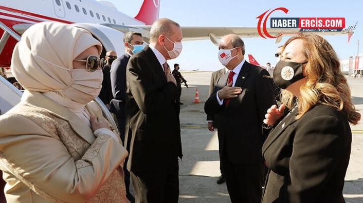 Cumhurbaşkanı Erdoğan, KKTC'de