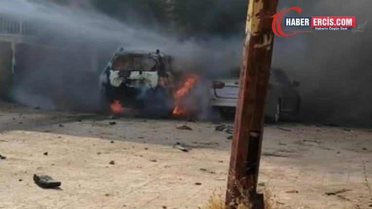 Efrîn'de bomba yüklü araç patladı