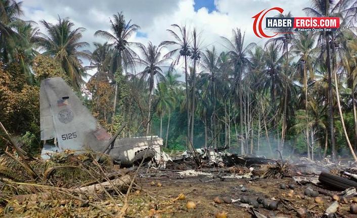Filipinler'de askeri uçak düştü: 29 ölü