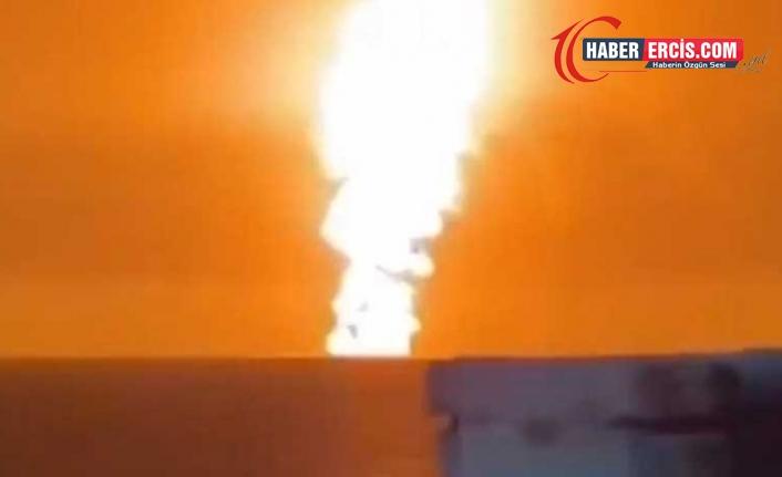 "Hazar Denizi'nde ""volkanik"" patlama!"