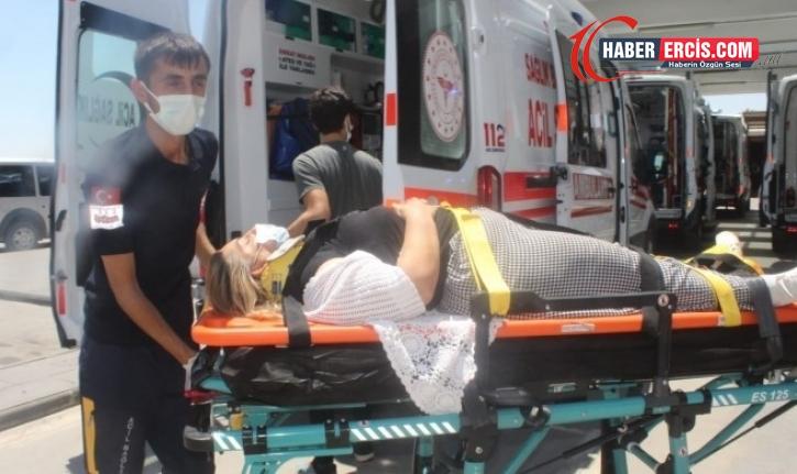 HDP'liler kaza yaptı: 7 kişi yaralı