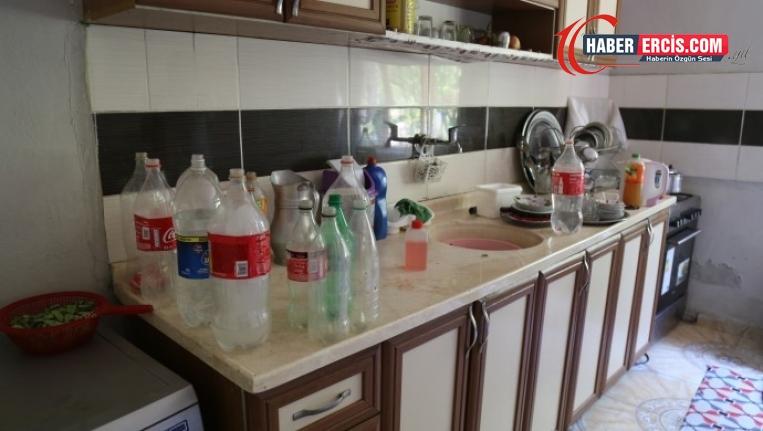 İpekyolu'nda 70 gündür suları kesik olan 8 aile, bayram da susuz karşıladı