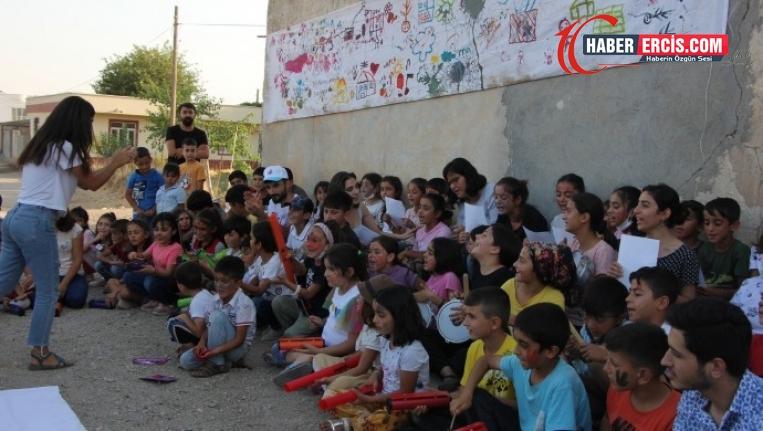 MED-DER Kürtçe için çocuklarla buluştu
