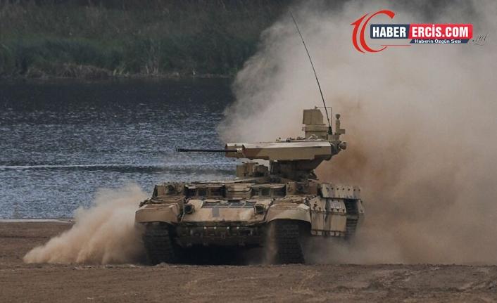 Rusya'dan Afganistan sınırında gövde gösterisi
