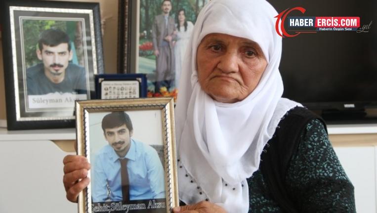 Süleyman Aksu'nun annesi: Günde 3 kez mezarına gidiyorum
