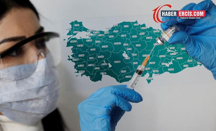 TTB 9'uncu pandemi bülteni: İkinci dozda en yüksek Çanakkale en düşük Urfa