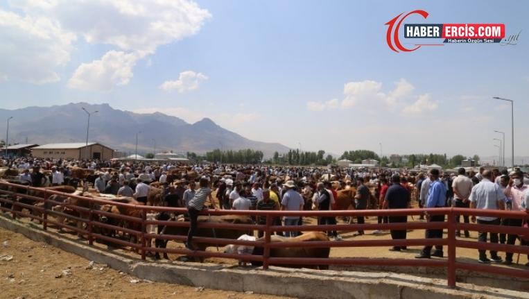 Van'da Ekonomik kriz hayvan pazarını da vurdu