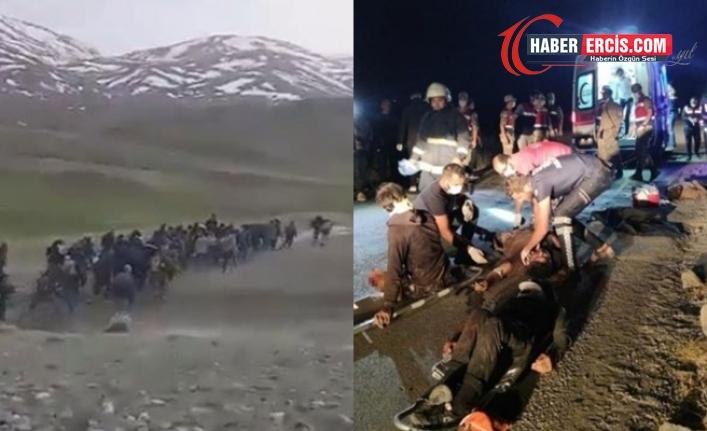 Van'da ölen mülteci sayısı 13'e yükseldi: Sınırda hiç bir güvenlik noktası çalışmıyor