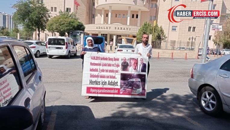 '176 gündür adalet diye haykırıyoruz'