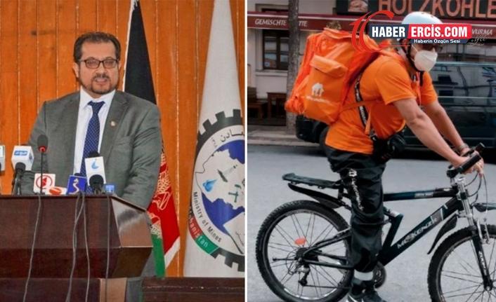 Afganistan'ın eski İletişim Bakanı, Almanya'da kurye oldu