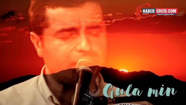 Demirtaş'ın 'Gula Min' eserini Farqîn seslendirdi