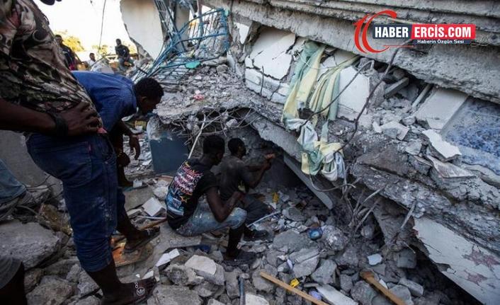 Haiti'de 7.2 büyüklüğündeki depremde can kaybı 724'e yükseldi