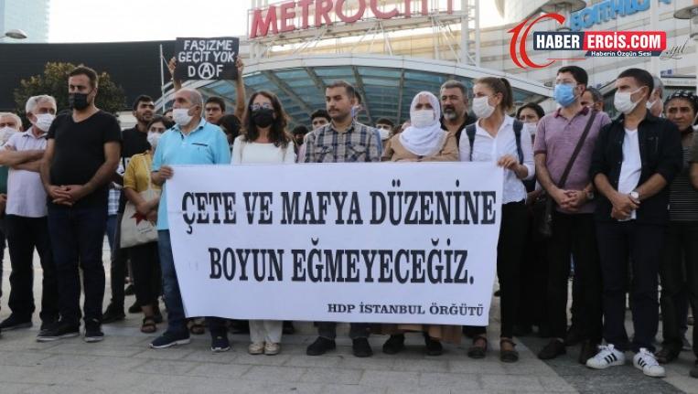 HDP'li Yalçın'ın kaçırılarak işkence edilmesi protesto edildi