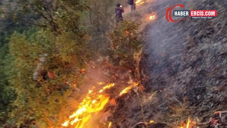 Munzur Vadisi'ndeki yangın yayılıyor