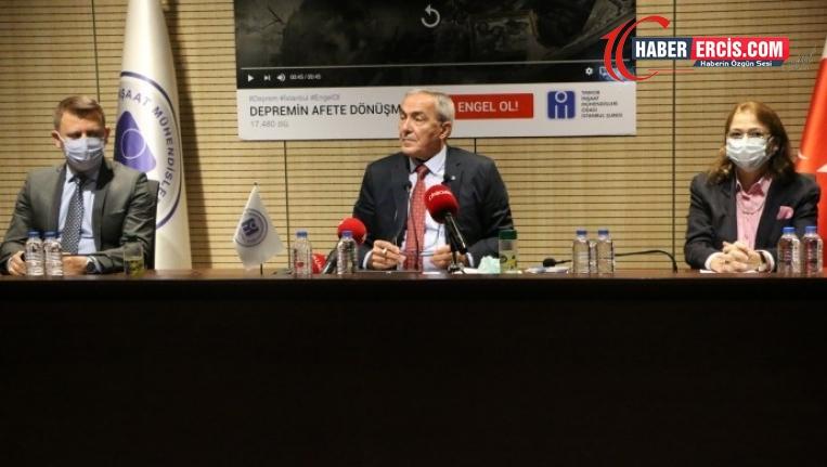TMMOB: Depremden ders alınmadı, İstanbul tehlike altında