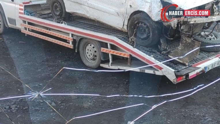 Uludere'de kaza: 1 ölü, 4 yaralı