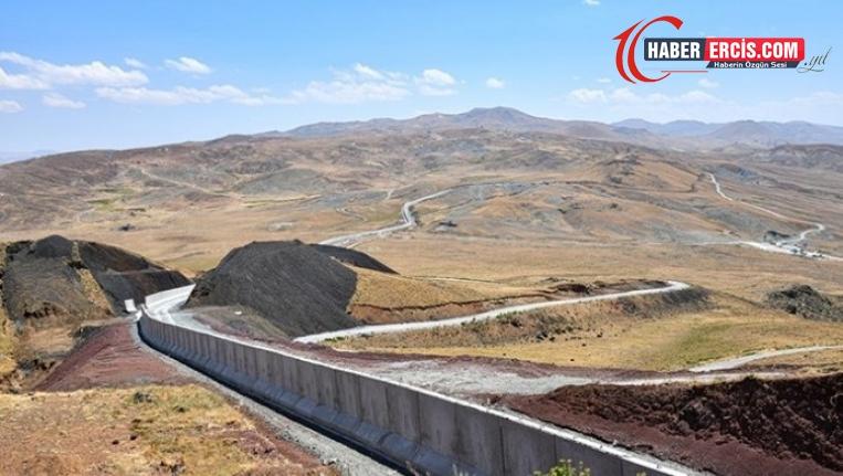 Van'da sınıra duvar: 'Sınır duvarının amacı Kürtleri birbirinden koparmak'