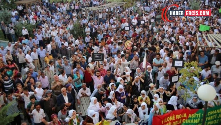 Van'daki 'Barış yaşatır' mitingine davet