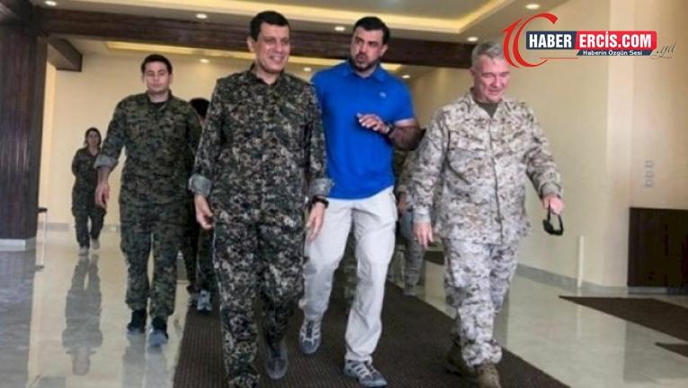 ABD'den DSG'ye ziyaret: 'Rojava Afganistan, YPG de Afgan Ordusu değil'